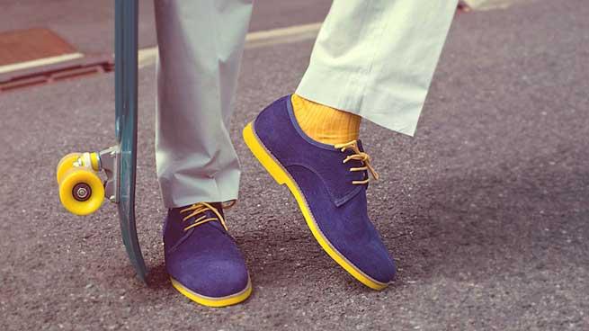 skate et chaussures
