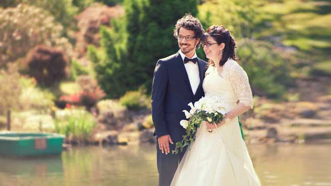 Portrait des mariés