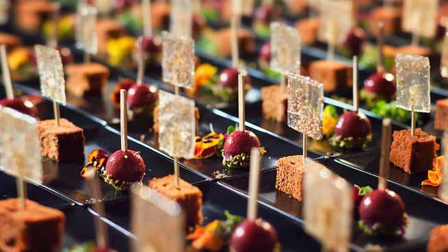 Photo culinaire – repas traiteur