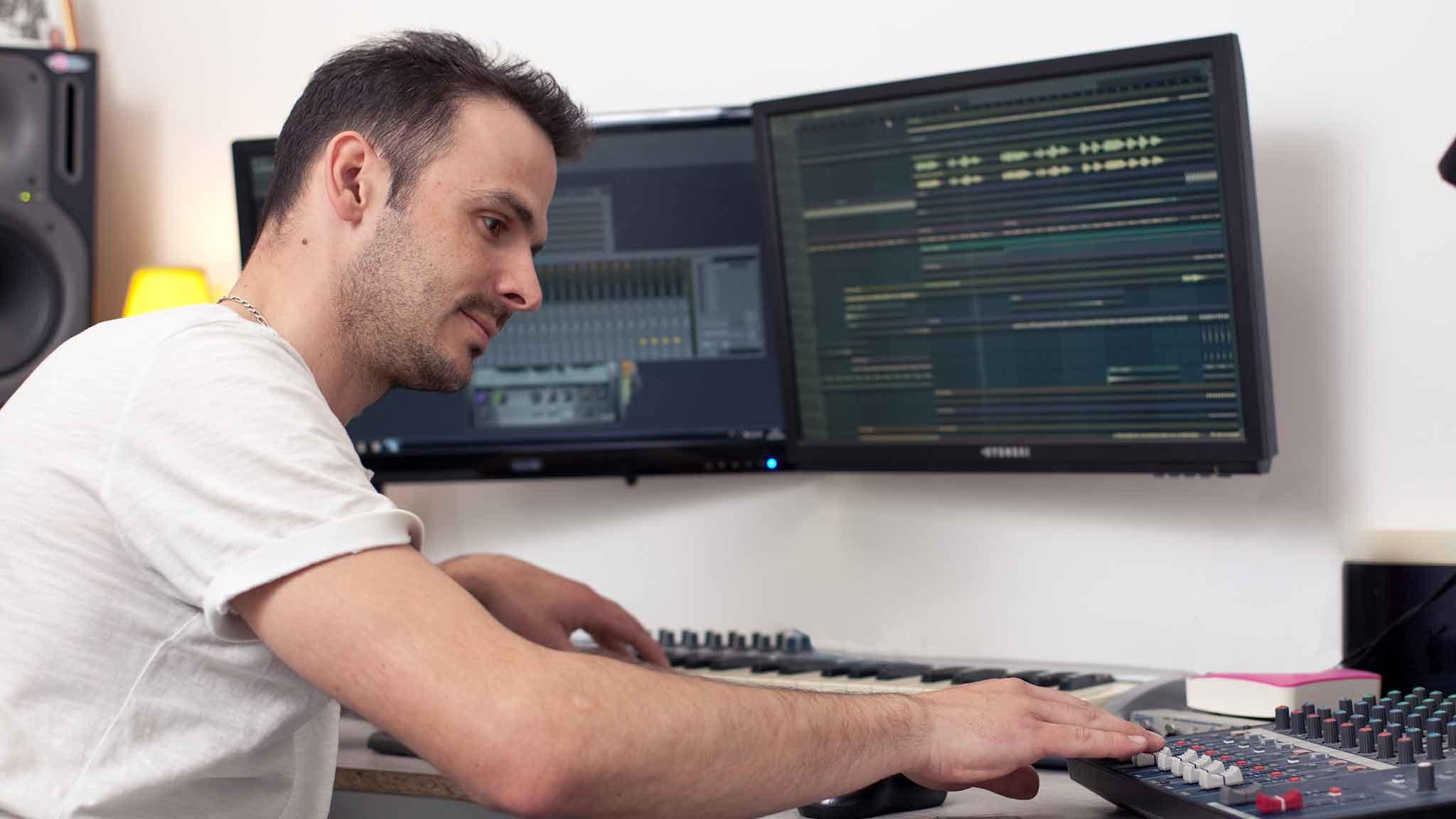 reportage metier mixeur ingénieur son dj evenementiel site web magazine