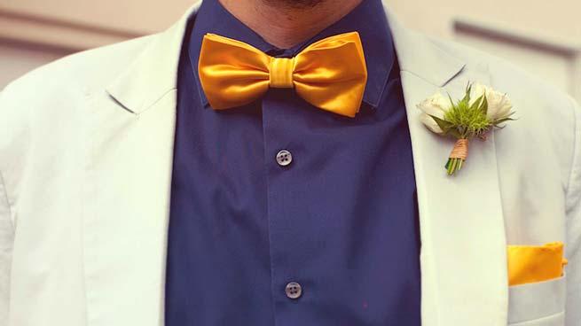 Costume de marié vintage