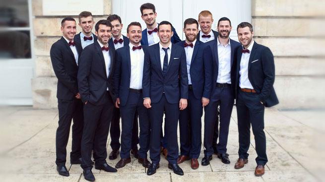 Le marié et ses boys