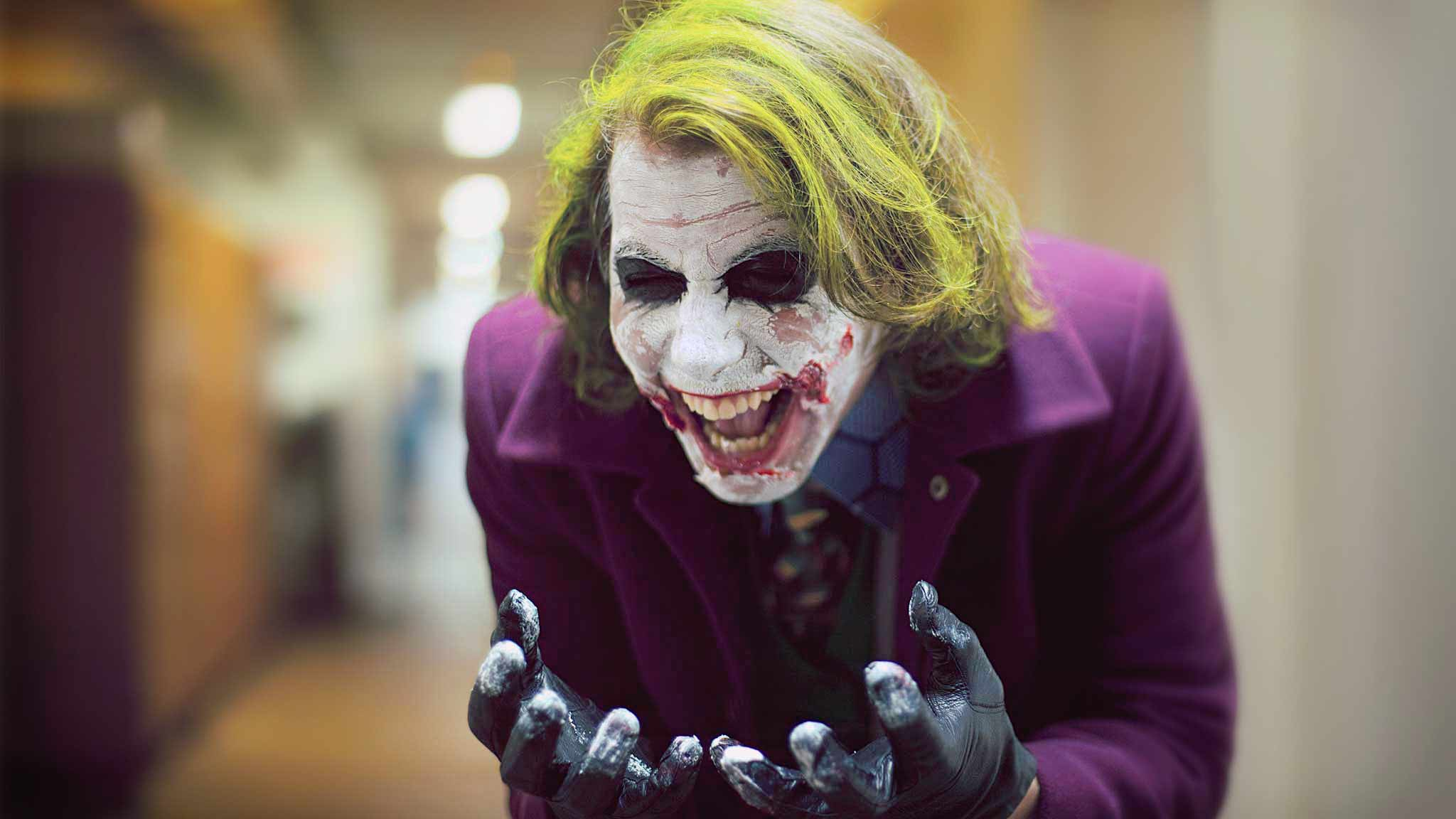 photographe portrait film tdk dark knight best joker cosplay