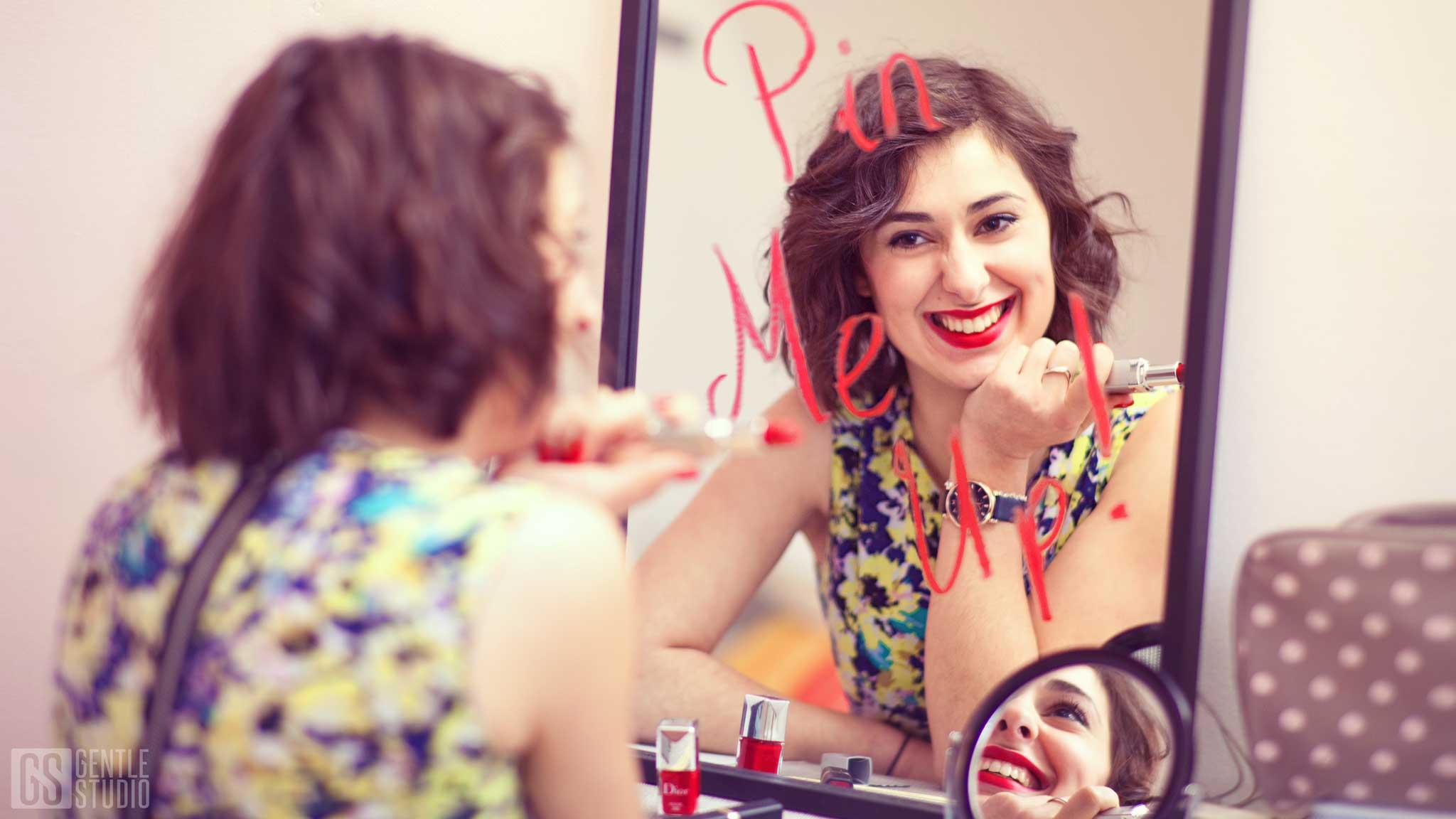 photographe portrait pin up pin me up pinterest red lipstick gentle studio french photographer nancy metz strasbourg lorraine