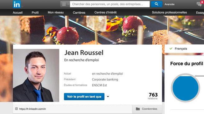 Portrait pour Linkedin