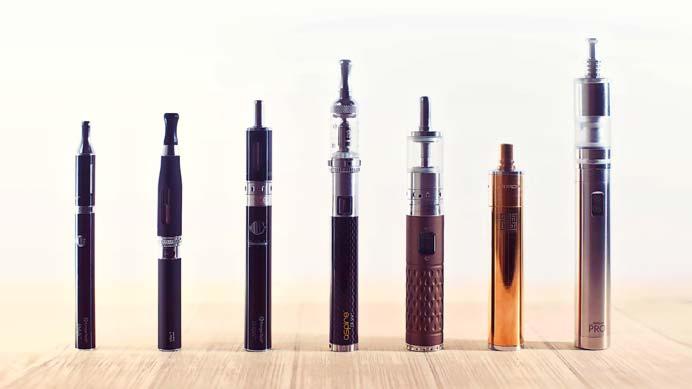Photo en Packshot – Cigarette electronique