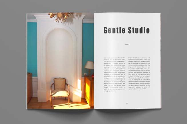Reportage photo – décoration intérieure, magazine déco