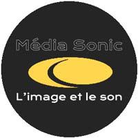 logo mediasonic nancy prestation eclairage son partenaire gentle studio photographie nancy metz strasbourg lorraine