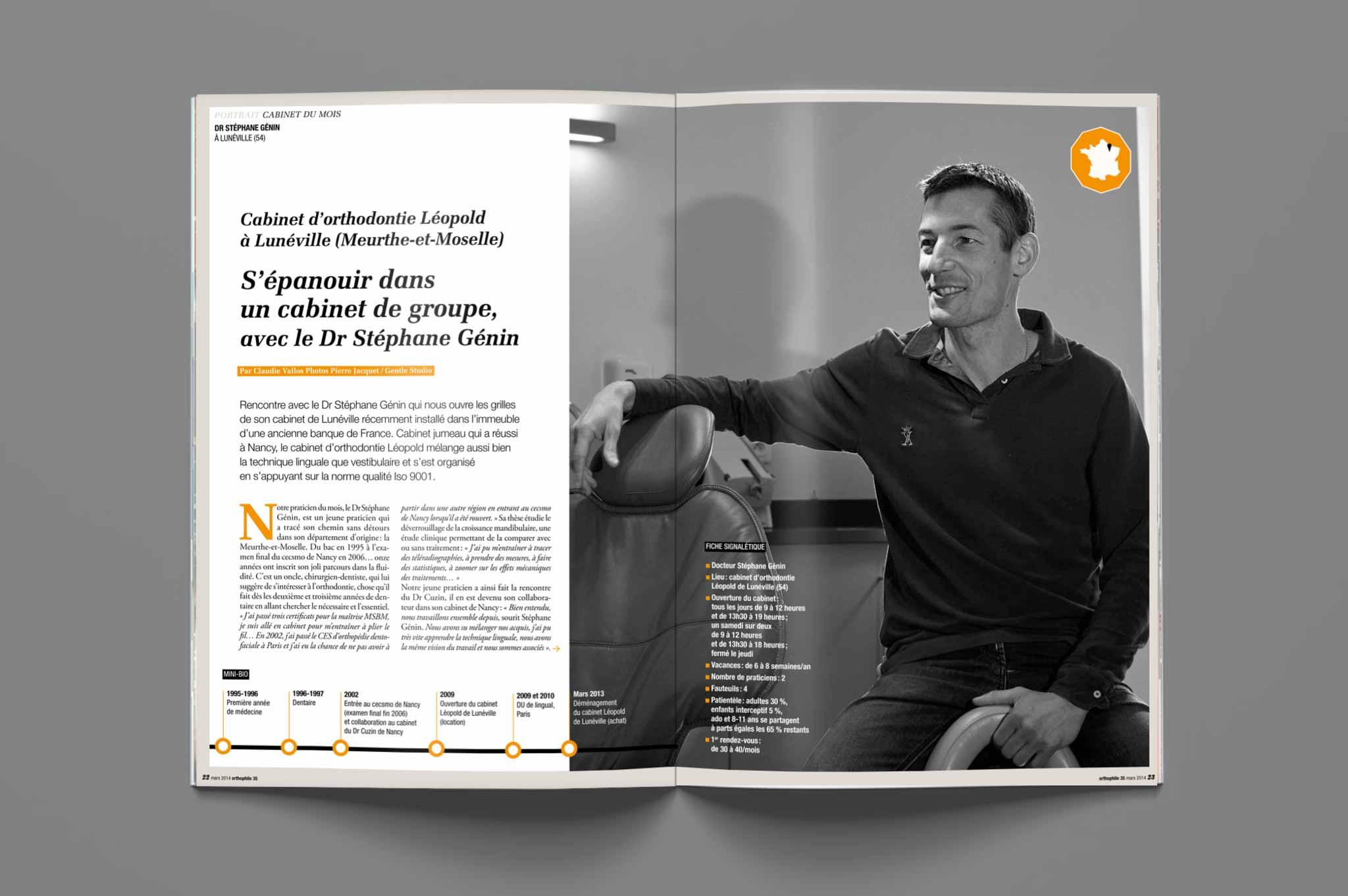 magazine mockup cabinet docteur medecine gentle studio photographer reportage photographe reporter santé